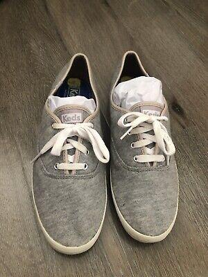 Keds Hollister Size 7.5 Grey