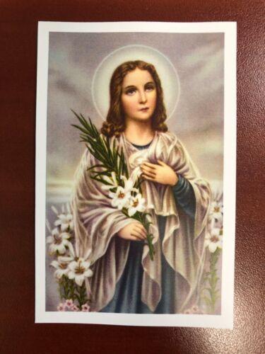 Holy Card Relic of Saint Maria Goretti #SMG0001