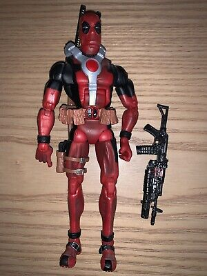 Marvel Legends Toys R Us TRU Exclusive Red Deadpool