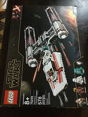 Lego Starwars 75249 Resistance Y-Wing Starfighter Disney Used