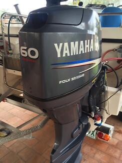 Yamaha 60 4 strokes Wurtulla Maroochydore Area Preview