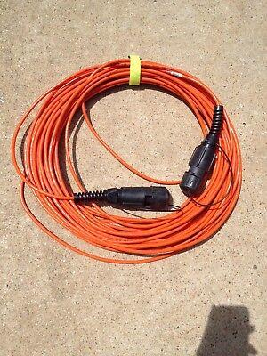 Sercel Seismic Geophysical Geophone Sensor Cable 120 Ft Lti Connector