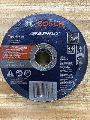 75 - Pack Bosch TCW1S450 Type 1 Thin Cutting Disc 4-1//2x.040x7//8