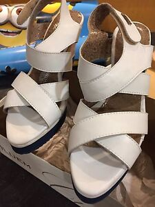 Brand new wedge sandals Size 8