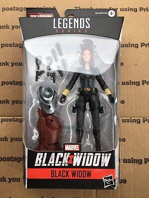 Hasbro Marvel Legends Black Widow Crimson Dynamo BAF Wave Black Widow New