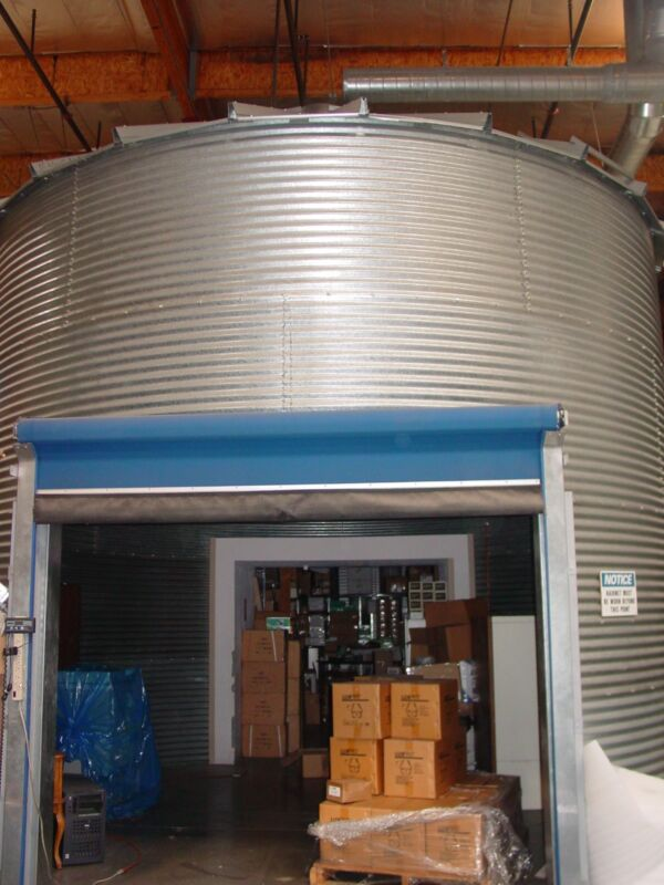 Storage Silo Cylindrical Structures 18