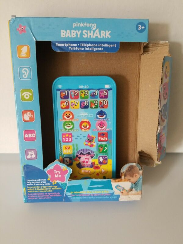 WowWee For Pinkfong Baby Shark Smartphone Educational Preschool Toy