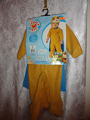 INFANTS WONDER PETS LINNY THE GUINEA PIG HALLOWEEN COSTUME -SIZE 6-12 MONTHS-NWT