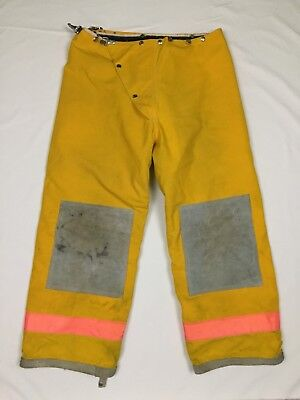 Express - Yellow Firefighter Nomex Thermal Lined Protective Turnout Pants