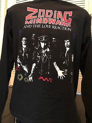 Rare VTG Zodiac Mindwarp Tour Shirt Sz XL Industrial Metal Ministry Rock NIN VOD