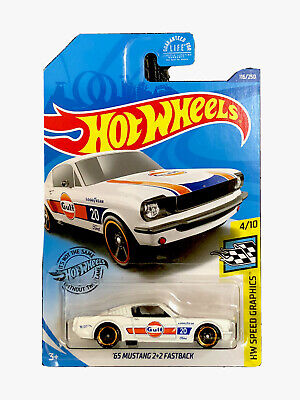 "Hot Wheels ""65 Mustang 2+2 Fastback Gulf Racing Car"