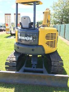 Komatsu PC50 MR-2 2008 MODEL excavator