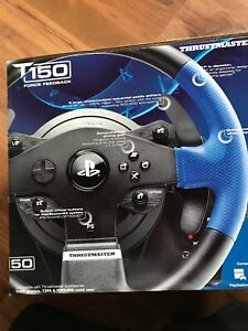 PS4 racing wheel pedals and shifter