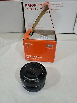 GENUINE Sony E PZ 16-50mm f/3.5-5.6 OSS Lens SELP1650 A+ CONDITION