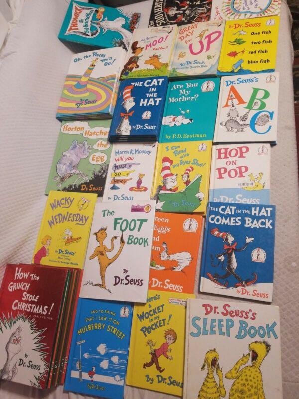 Dr seuss books lot of 10 Kids Reading