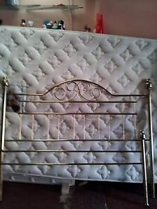 ALL BRASS QUEEN SIZE BED..AND PILLOW TOP MATTRESS North Haven Port Adelaide Area Preview