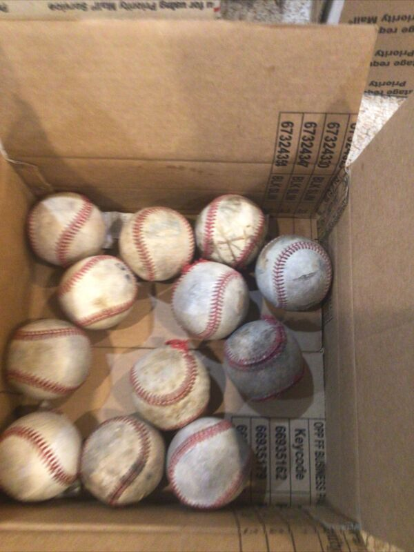 30 Leather Baseballs-Defeat Condition
