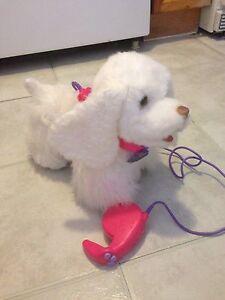 FurReal Friend Remote control walking dog.