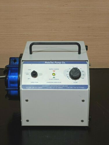 Rolatec MP-V400 Portable Rechargeable Battery Powered Peristaltic Pump / 6.0 LPM