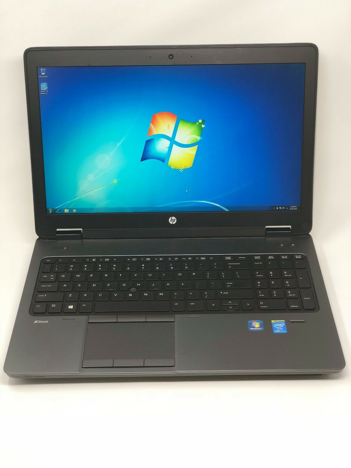 HP ZBook 15 Core i7-4800MQ 2.7GHz 4GB 1TB Win 7 K2100m 1080p Gaming Laptop