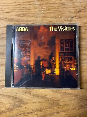 The Visitors by ABBA (CD, 1983 Polar) RARE Great Condition