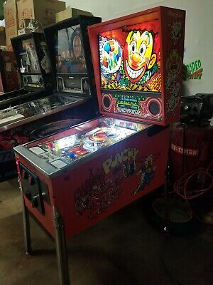 Punchy the Clown pinball machine
