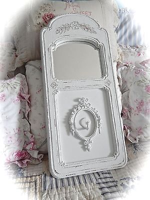 Shabby FLORAL Fussy WALL Jewelry ORGANIZER Holder Mirror UNIQUE Cottage CHIC