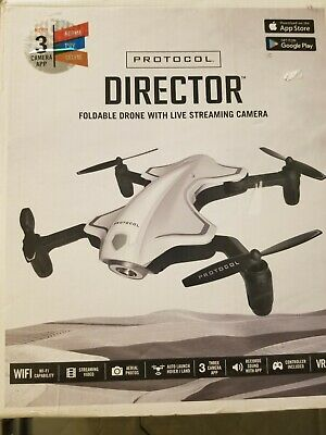 Politesse 6182-7RCHA WAL Director Foldable Drone with Live Streaming HD Camera