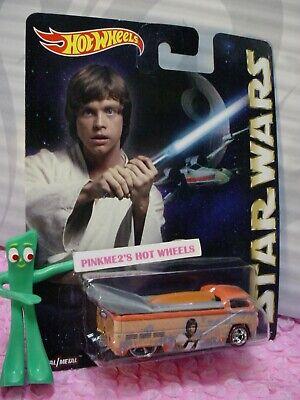 2015 Star Wars VOLKSWAGEN DRAG TRUCK✰LUKE✰orange VW bus;RealRider✰Hot Wheels Pop ()