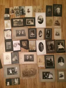 Large lot of Antique Photos and Postcards