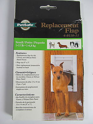 Single Replacement Flap - PetSafe Replacement Single Flap, Small, 4011011, New, Free Shipping