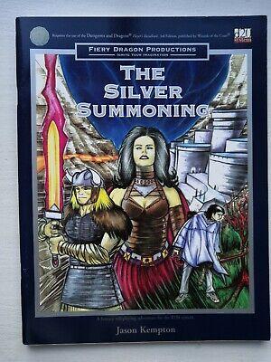 D20 The Silver Summoning adventure, Uncut, Fiery Dragon Productions. FDP1001 comprar usado  Enviando para Brazil