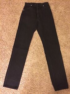 Ladies Wrangler Jeans Black Denim