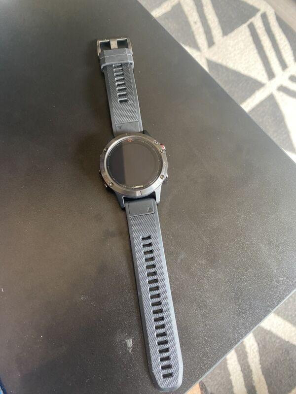 Garmin Fenix 5 Black Multisport Watch 47mm
