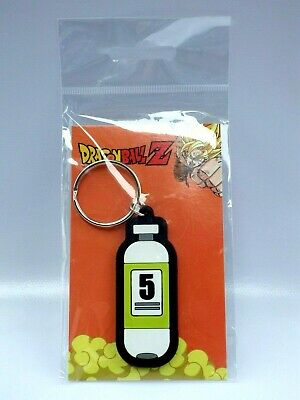 Keychain Key Ring Official Abystyle Dragon Ball Z Capsule PVC
