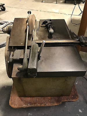 Letterpress Makeready Lead And Wood Vintage Cg Printers Type Saw