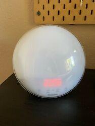 Philips HF3520 Wake-Up Light Colored Sunrise Alarm Clock Radio - FREE SHIP