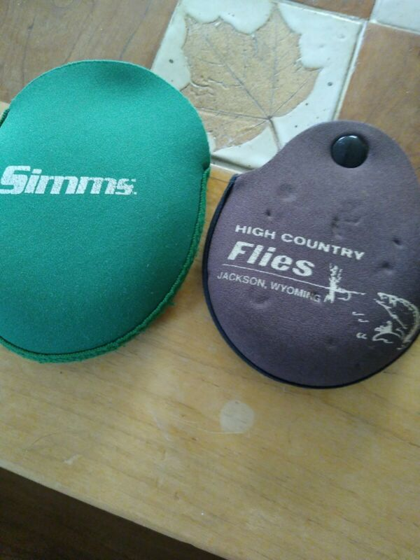 Simms & High Country Flies Jackson, Wyoming Fly Reel Pouches