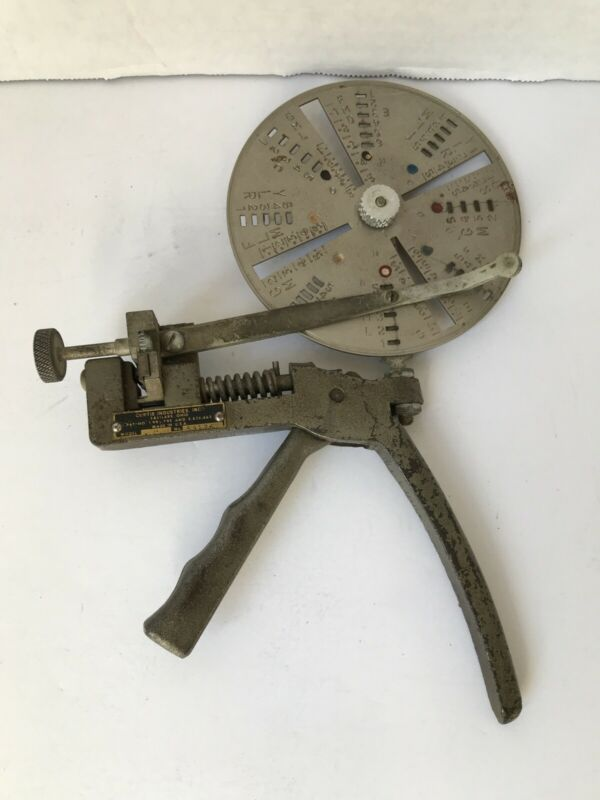 CURTIS KEY CUTTER MODEL 14 With Wheel (A1)
