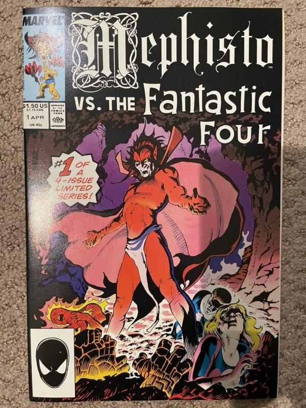 mephisto vs the fantastic four #1