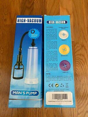 Penis Enlarger-Pumps Penis-Extender Best Penis Vacuum Pump Male Performance