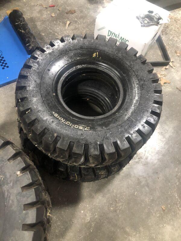 7.50 10 Forklift Tires