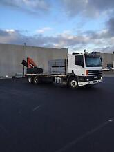 Bayside Transport - Crane Truck Transport with Driver Seaford Frankston Area Preview