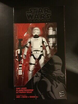 New Star Wars Black Series 6 Inch First Order Flametrooper #16 VGC