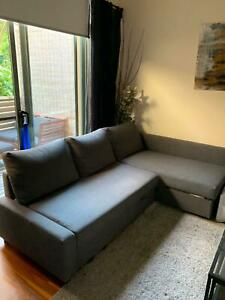 IKEA FRIHETEN COUCH/PULL OUT SOFA