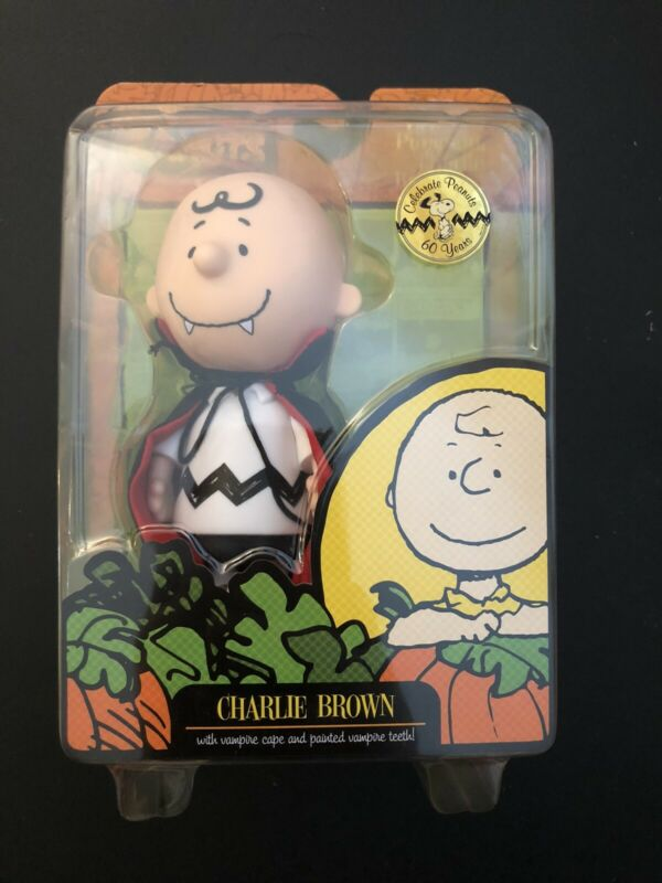 Peanuts Charlie Brown Vampire Great Pumpkin Doll Figure 2009 Forever Fun