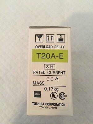New In Box Toshiba Overload Relay T20a-e