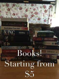 VARIOUS BOOKS (B1-B9) starting from $5 Lalor Whittlesea Area Preview
