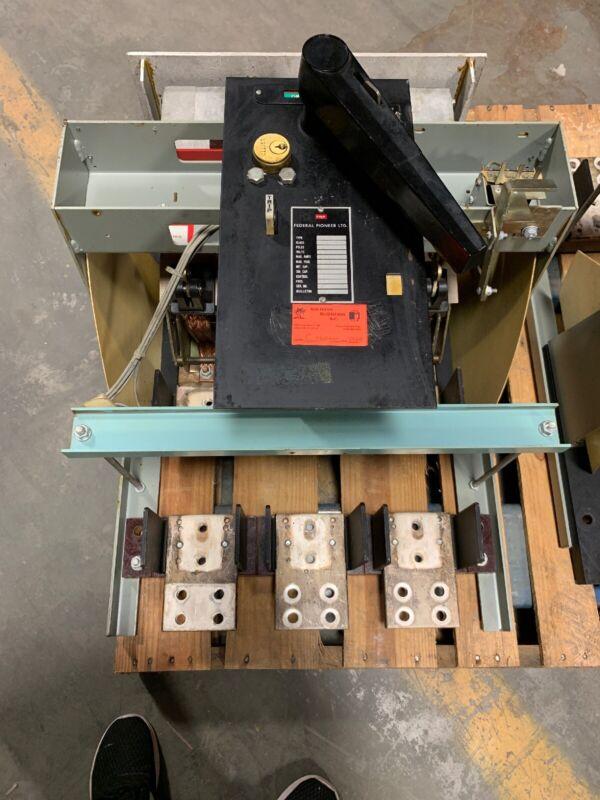 Federal Pioneer 20PL 2000 Amp MO BOLT IN SWITCH 120 Volt Shunt 500 V
