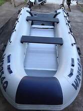 3.3m Inflatable Dinghy - Near New Condition with 9.8hp motor New Farm Brisbane North East Preview